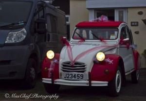 decorated 2cv dolly